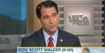 Scott Walker: My Poll Numbers Will Rise Once Everyone Sees How Great My Record In Wisconsin Is