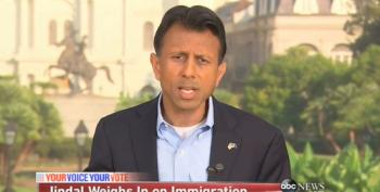 Bobby Jindal: Immigration Policy Is Not About Border Security, But About 'Values'
