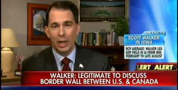 Walker Has His Back Against The Canadian Wall