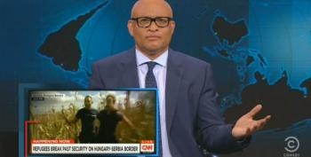 Larry Wilmore Rips CNN For Making Syria Coverage All About Themselves
