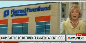 Rep. Diane Black Defends Congressional Witch Hunt Of Planned Parenthood