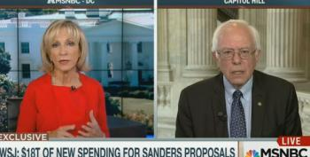 Andrea Mitchell Pushes Wall Street Journal Hit Job On Bernie Sanders