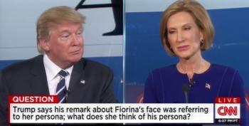 Fiorina Vs. Trump, Round 2
