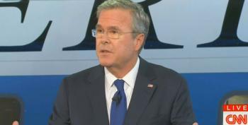 Jeb Bush Flip Flops On Kim Davis At CNN Debate