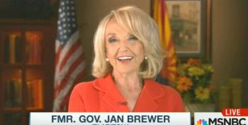 Former AZ Gov. Jan Brewer Suggests Trump Birther May Have Been A Plant