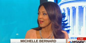 Michelle Bernard Calls Bush's Lie That His Brother Kept Us Safe One Of His Finest Moments