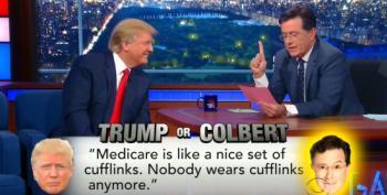 'Trump Or Colbert'