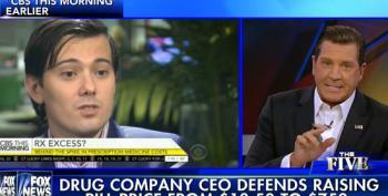 Fox's Bolling Defends 'Pharma Bro' Martin Shkreli