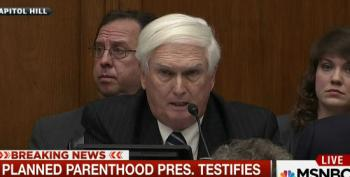 GOP Rep Compares Planned Parenthood President To A Criminal
