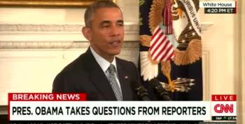 President Obama Reacts To Jeb Bush's 'Stuff Happens' Remark