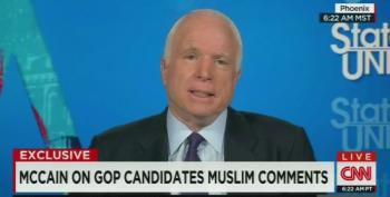John McCain Not Happy With Tone Of GOP