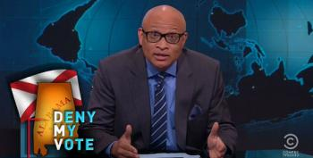 Larry Wilmore Whacks Alabama For DMV Closings