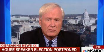 Chris Matthews Can't Talk About Right Wing Lunatics Without Mentioning 'Both Sides'