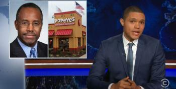The Daily Show Obtains Surveillance Footage Of Ben Carson At Popeyes