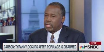 Ben Carson Blames Gun Control For The Holocaust