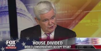Newt Gingrich Warns Paul Ryan About Taking Speaker's Job