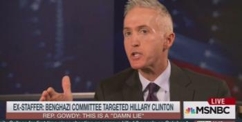 Rep. Trey Gowdy Melts Down: Blasts CNN, Calls Ex-Staffer A Liar