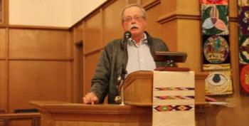 Tom O'Connor, Gun Owners For Responsible Ownership Speaks At UCC Vigil