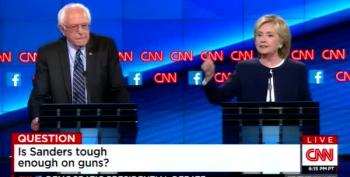 The Great Gun Debate - Bernie Sanders And Hillary Clinton