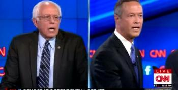 The Great Gun Debate - Sanders And O'Malley