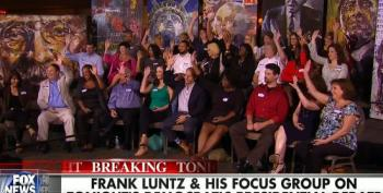 Frank Luntz Panel Loves Sanders, Trashes GOP, Wants Webb And Chaffee Out