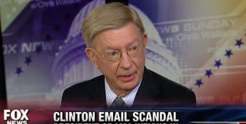 George Will Conflates Trumped Up Emailghazi 'Scandal' With Trumped Up IRS 'Scandal'