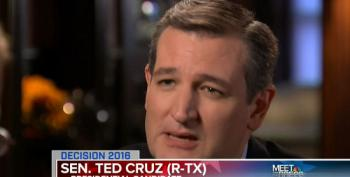 Chuck Todd Asks Ted Cruz How He's Going To Lead When Nobody In Washington Follows Him