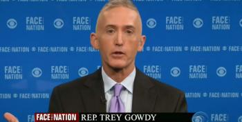 Trey Gowdy Pretends His Benghazi Witch Hunt Isn't Focusing On Hillary Clinton