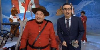 Canadians, John Oliver Asks You Not To Vote For Stephen Harper