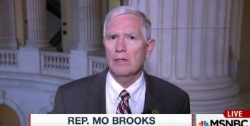 Wingnut AL Rep. Brooks Wants To Impeach 'President Hillary Clinton' On Day One