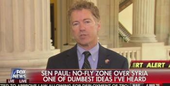 Rand Paul Calls Marco Rubio's Syrian No Fly Zone Plan 'Naive' And 'Foolish'