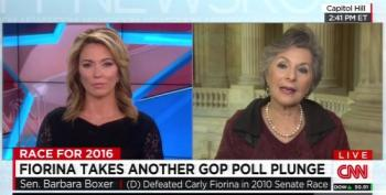 Barbara Boxer Explains Carly Fiorina's Nosedive In The Polls