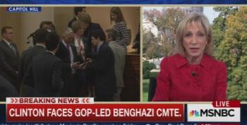 Andrea Mitchell Sets The Record Straight On Sidney Blumenthal