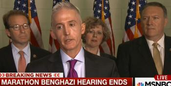 Trey Gowdy Admits They Did Not Get Any New Information On Clinton During Benghazi Hearing