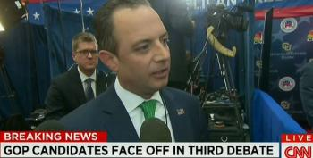 Reince Priebus Attacks CNBC Debate Moderators