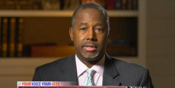 Ben Carson Wants A Cheese And Crackers Gathering As A Debate