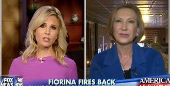 Carly Fiorina To The View: 'Man Up, And Debate Me' On My 'Facts'