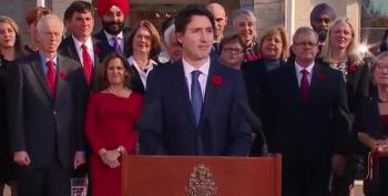 Trudeau Answers Succinctly Why His New Cabinet Is 50% Women