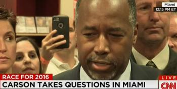 Ben Carson Doubles Down On Remarks About Pyramids And Creationism