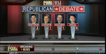 Chris Christie Relegated To 'Kiddie Table' For Next Debate