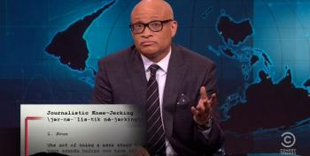 Larry Wilmore Hits Fox For 'Journalistic Knee-Jerking' Over Black Lives Matter