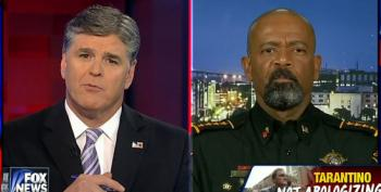Hannity And Fox's Wingnut Sheriff Clarke Attack Quentin Tarantino