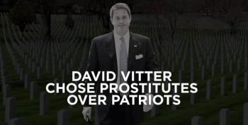 'David Vitter Chose Prostitutes Over Patriots'