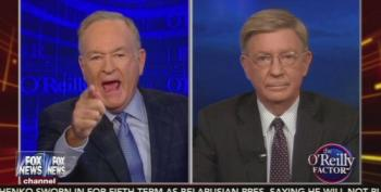 Bill O'Reilly Calls George Will A 'Hack,' Will Calls Bill A 'Liar'