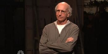 Larry David Takes Up Latino Group's Offer To Call Trump A Racist During SNL