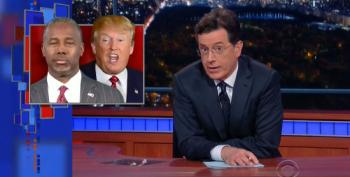 Stephen Colbert: GOP Front Runners Code Named Stabby And Crabby