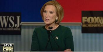 New Study Proves Carly Fiorina Is A Big Liar About Obamacare