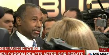 Carson Spews Word Salad On Too Big To Fail