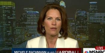 Bachmann: Sanders 'Pulled All The Air Out Of His Campaign' Taking Up For Clinton On Benghazi