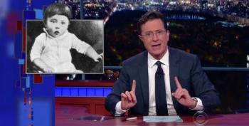 Colbert: Baby Hitler Is No Match For Jeb!